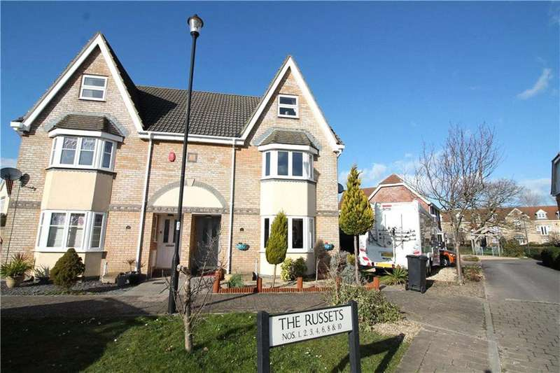 4 Bedrooms Semi Detached House for sale in The Russets, Portishead, North Somerset, BS20