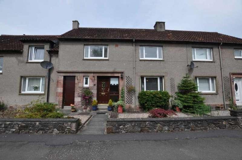 3 Bedrooms Terraced House for sale in 9 Castle Court, Menstrie, FK11 7AF, UK