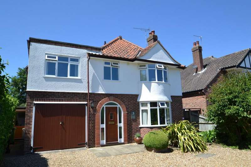 4 Bedrooms Detached House for sale in Keswick Close Norwich