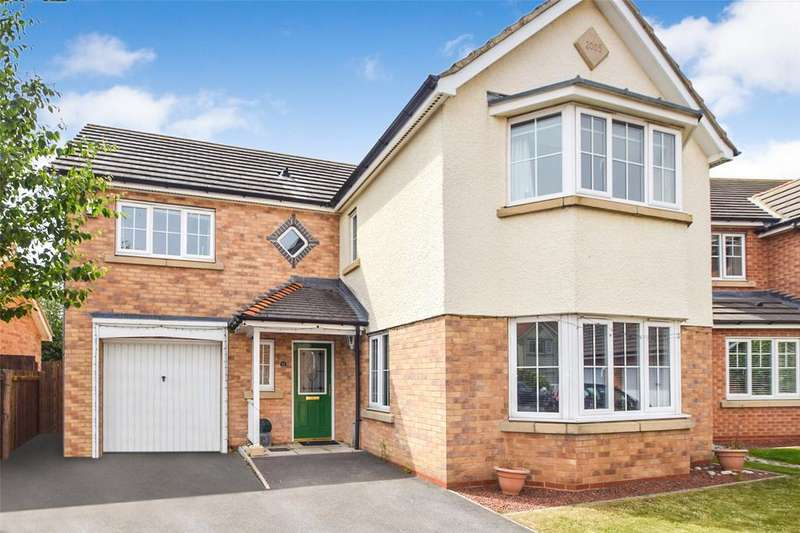 4 Bedrooms Detached House for sale in Bamburgh Drive, East Shore Village, Seaham, Co Durham, SR7