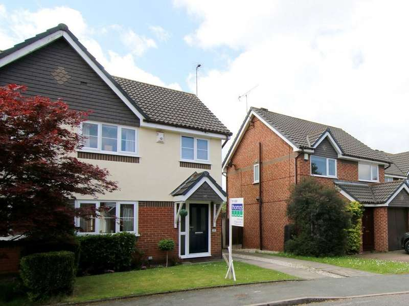 3 Bedrooms Semi Detached House for sale in Housesteads Drive, Hoole, Chester, CH2