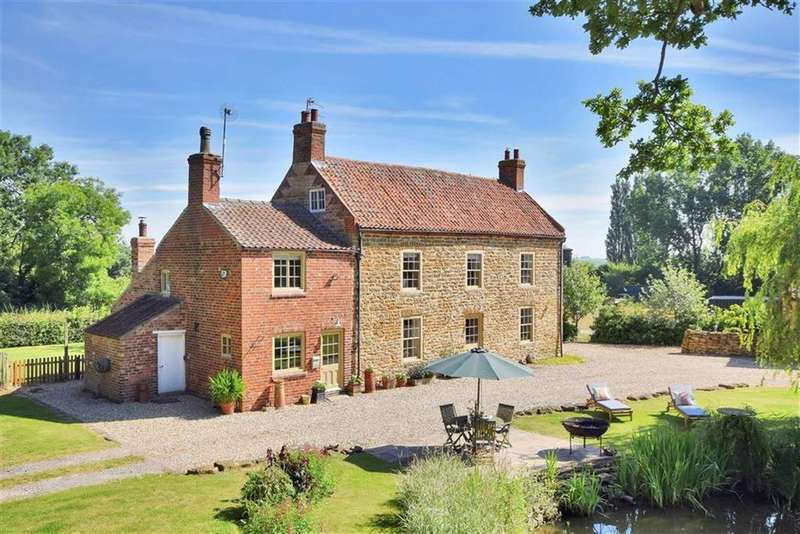 4 Bedrooms Detached House for sale in Carlton Lane, Broxholme, Lincoln, Lincolnshire