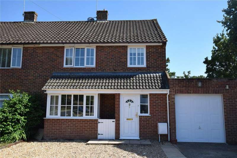 3 Bedrooms Semi Detached House for sale in Bannister Road, Burghfield Common, Reading, RG7
