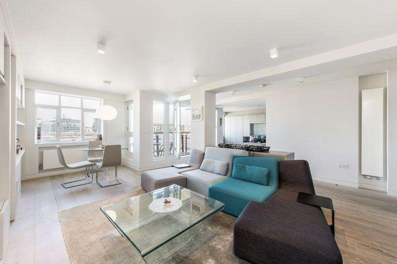 1 Bedroom Apartment Flat for sale in River View Heights, 27 Bermondsey Wall West