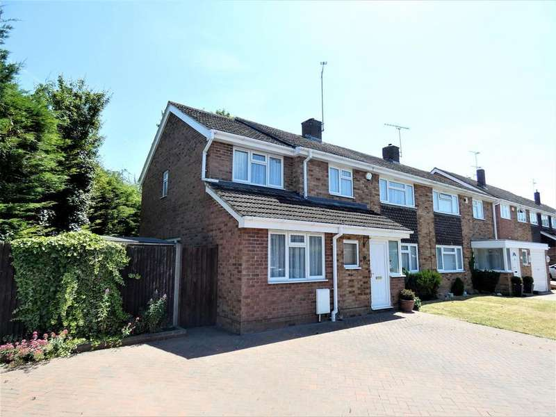 5 Bedrooms Semi Detached House for sale in Leston Close, Dunstable