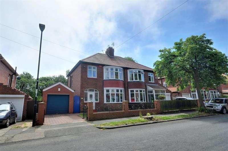 3 Bedrooms Semi Detached House for sale in Grange Park Avenue, Fulwell, Sunderland
