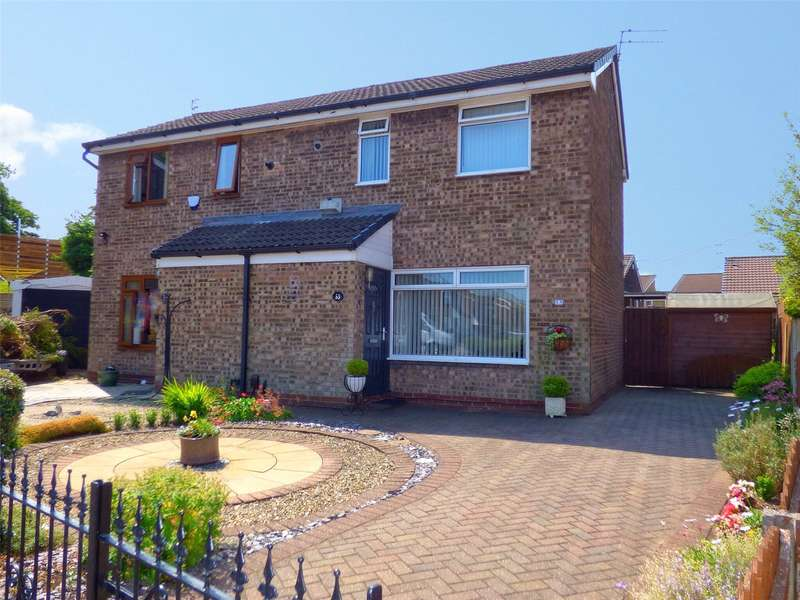 2 Bedrooms Semi Detached House for sale in Willow Avenue, Middleton, Manchester, M24