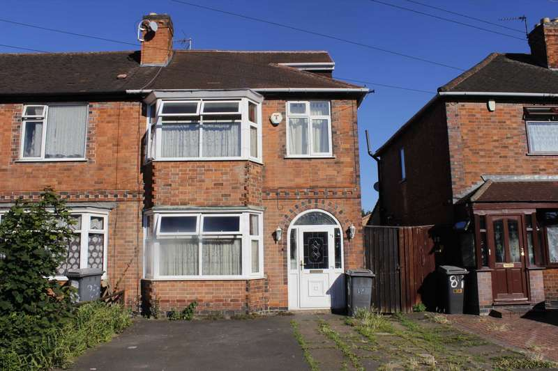 4 Bedrooms Semi Detached House for sale in Highbury Road, Leicester