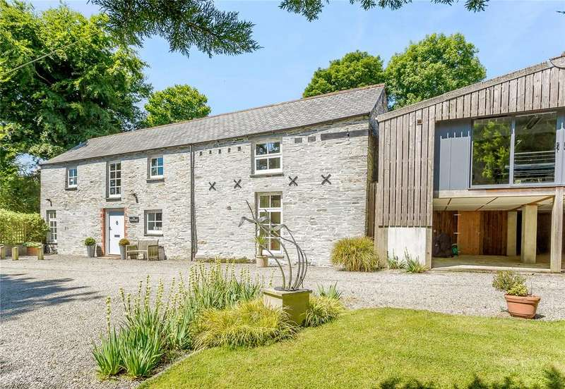 4 Bedrooms Barn Conversion Character Property for sale in Camelford, Cornwall
