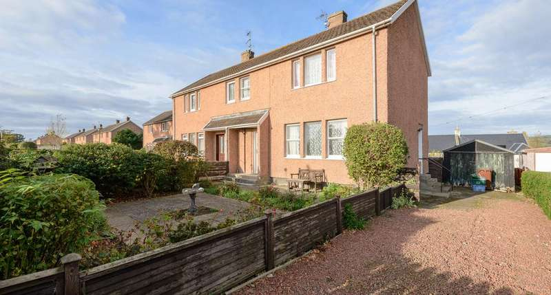 3 Bedrooms Semi Detached House for sale in Briery Bank, Haddington EH40
