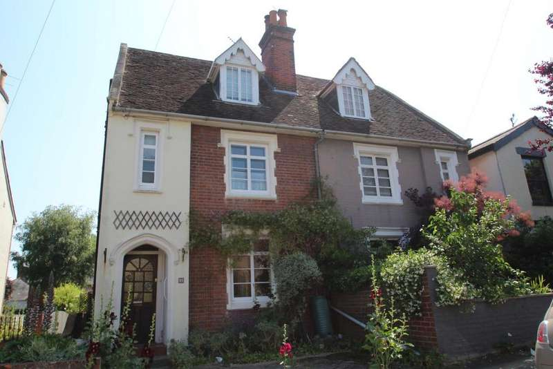 3 Bedrooms Semi Detached House for sale in Castle Road, Colchester
