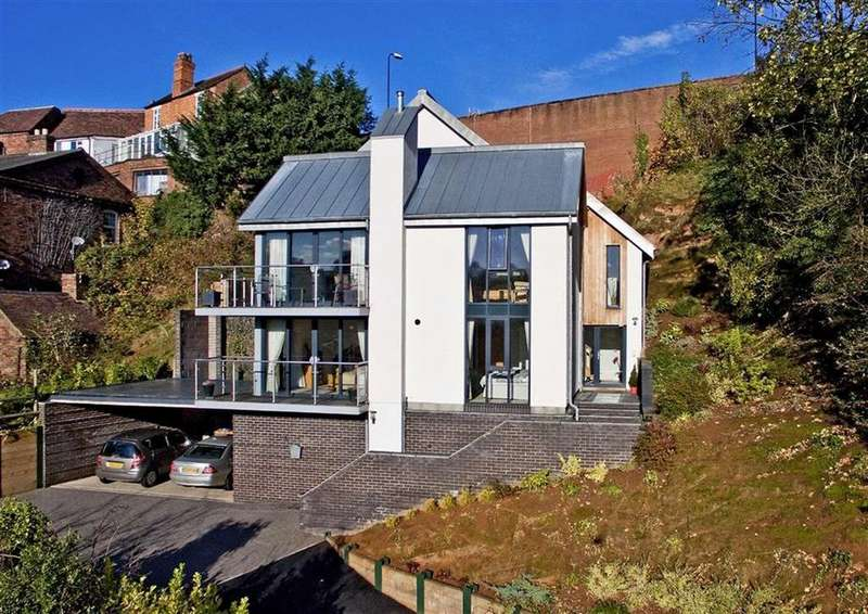 3 Bedrooms Detached House for sale in Hawthorn View, Hollybush Road, High Town, Bridgnorth, Shropshire, WV16