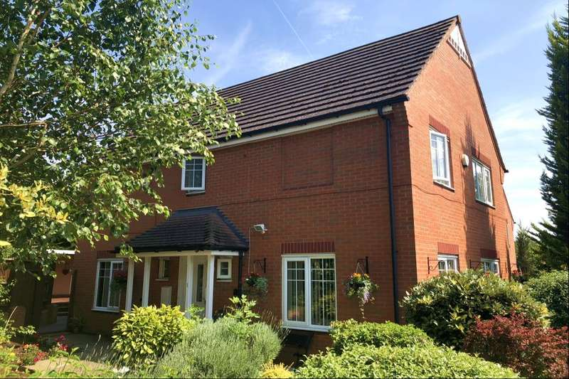 4 Bedrooms Detached House for sale in Musson Close, Marston Green, Birmingham, B37