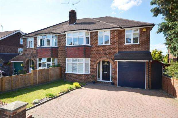 4 Bedrooms Semi Detached House for sale in Delamere Road, Earley, Reading
