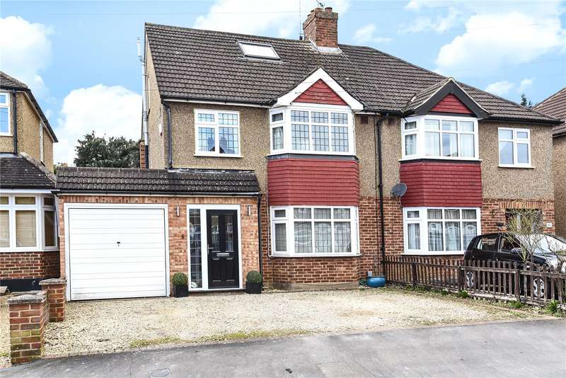 4 Bedrooms Semi Detached House for sale in Winton Crescent, Croxley Green, Rickmansworth, Hertfordshire, WD3