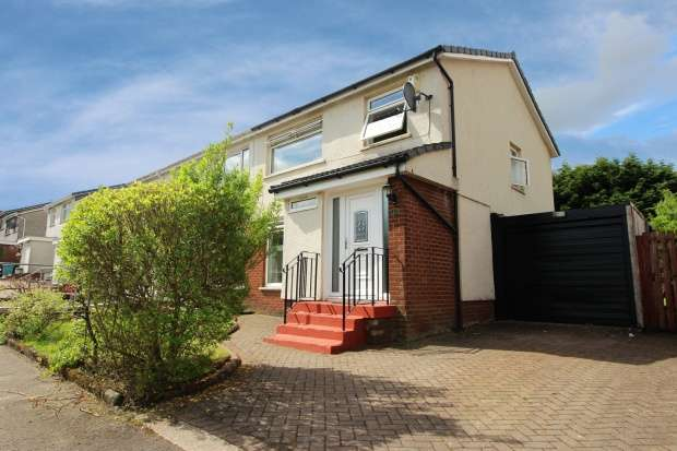 3 Bedrooms Semi Detached House for sale in Dunalastair Drive, Glasgow, G33 6LN