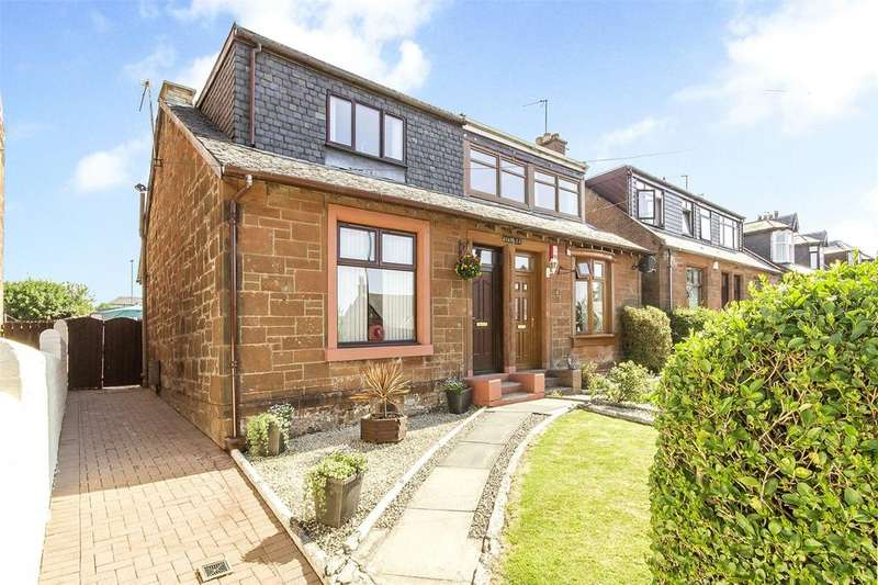 3 Bedrooms Semi Detached House for sale in 44 Mauchline Road, Auchinleck, Cumnock, KA18