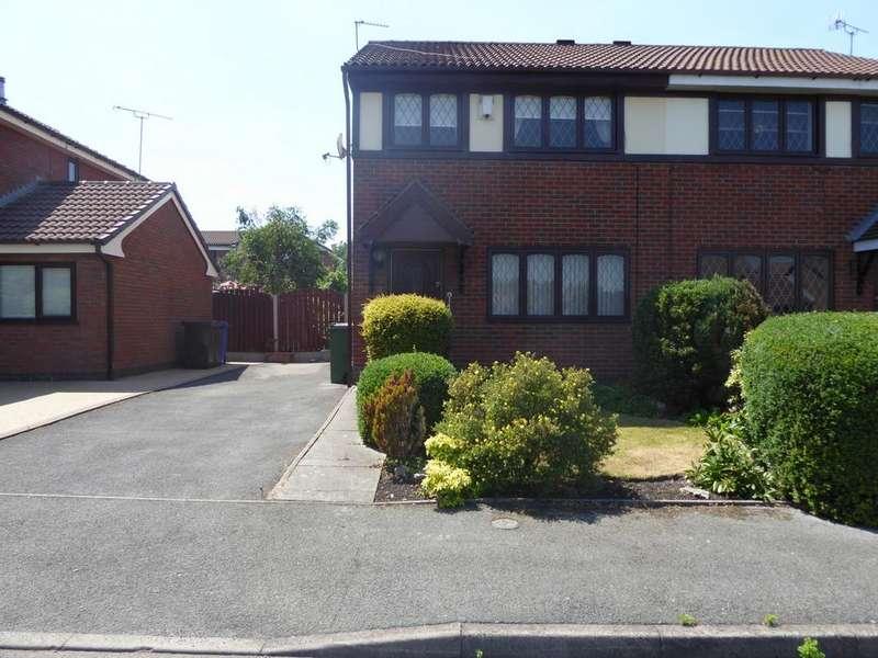 3 Bedrooms Semi Detached House for sale in Martingale Way, Droylsden, M43