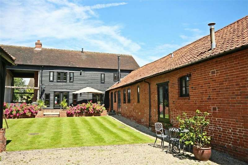 5 Bedrooms Barn Conversion Character Property for sale in East Barn, Beauchamp Roding, ONGAR, Essex