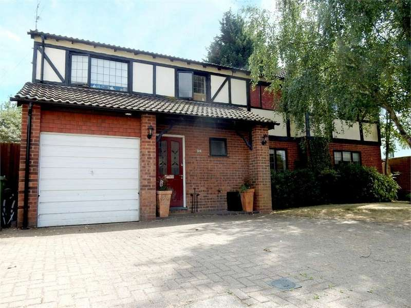 5 Bedrooms Detached House for sale in Hormer Close, Owlsmoor, Sandhurst, Berkshire