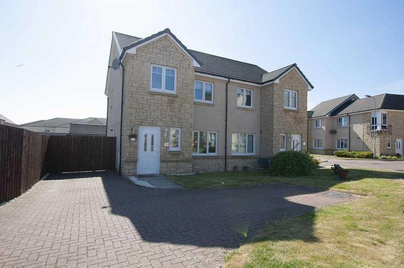 3 Bedrooms Semi Detached House for sale in 3 Galan, Alloa, FK10 1RJ, UK