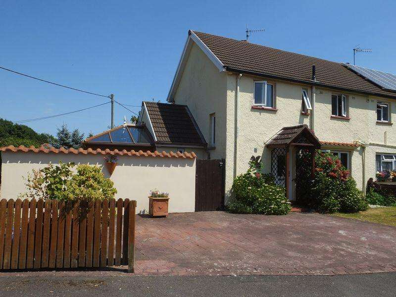 2 Bedrooms Semi Detached House for sale in Pentwyn, The Bryn, Abergavenny