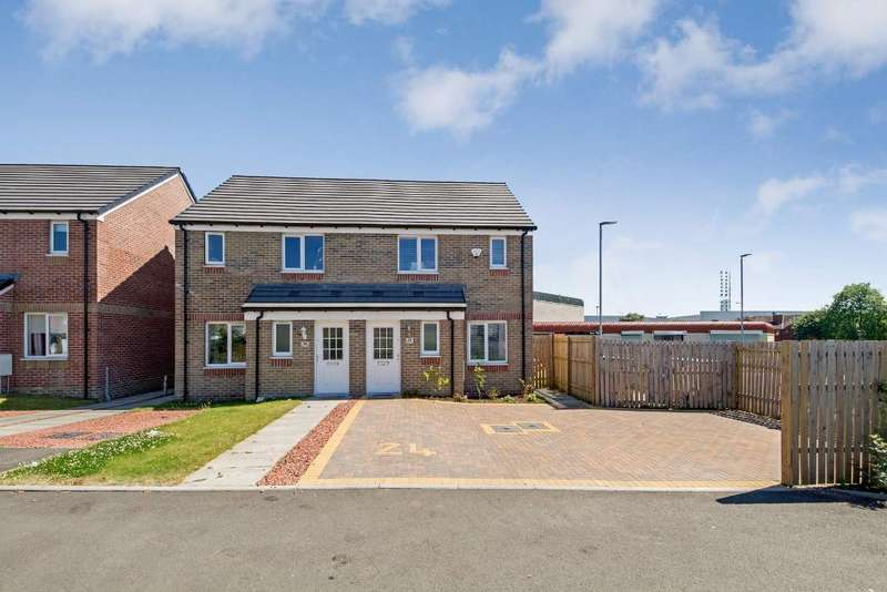 3 Bedrooms Semi Detached House for sale in Barholm Avenue, Glasgow, G33 5AA