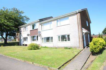2 Bedrooms Flat for sale in Dalmahoy Way, Kilwinning, North Ayrshire