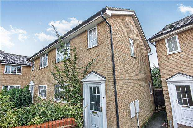 2 Bedrooms Semi Detached House for sale in Charlotte Place, KINGSBURY, NW9 0BW