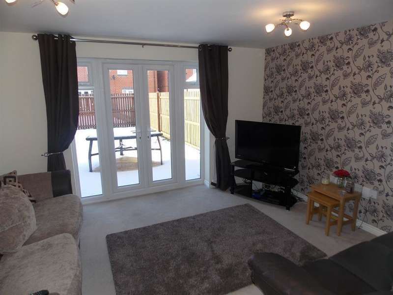 3 Bedrooms Semi Detached House for sale in Scholars Rise, Middlesbrough, TS4 3RP