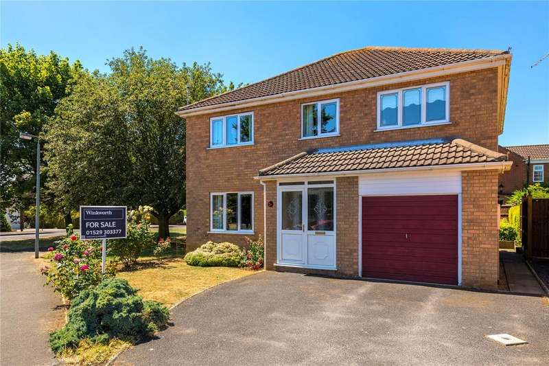 4 Bedrooms Detached House for sale in Malvern Close, Sleaford, Lincolnshire, NG34