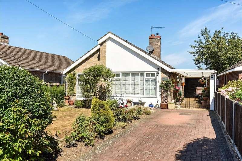 2 Bedrooms Detached Bungalow for sale in Chaplin Close, Metheringham, LN4