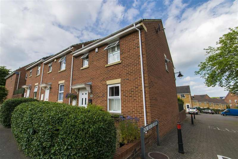 3 Bedrooms End Of Terrace House for sale in Wright Way, Stoke Park, Bristol, BS16 1WH