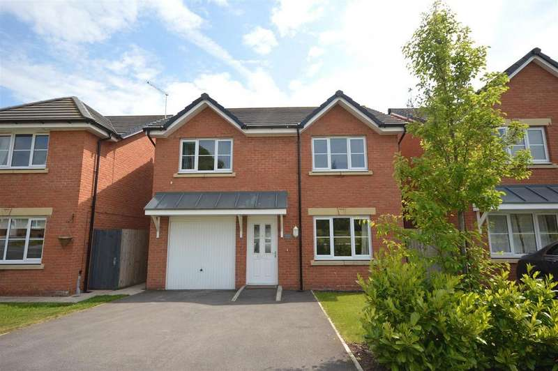 4 Bedrooms Detached House for sale in Rose Way, Sandbach