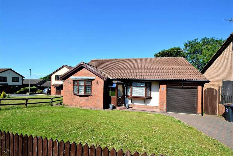 3 Bedrooms Detached Bungalow for sale in Priors Path, Ferryhill