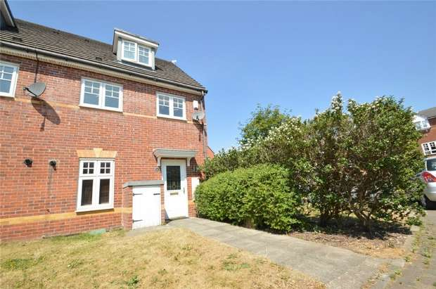 3 Bedrooms End Of Terrace House for sale in Abbeyfield Close, Cale Green, Stockport, Cheshire