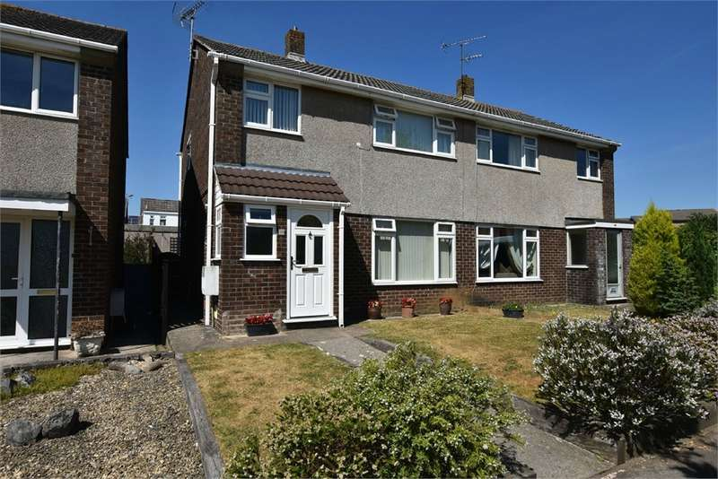3 Bedrooms Semi Detached House for sale in Selworthy Gardens, Nailsea, Bristol, North Somerset