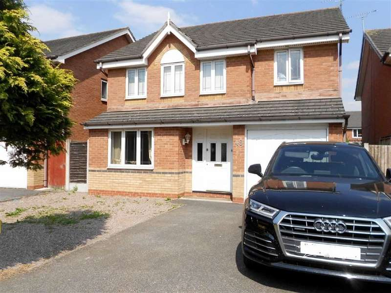 4 Bedrooms Detached House for sale in James Atkinson Way, Crewe, Cheshire