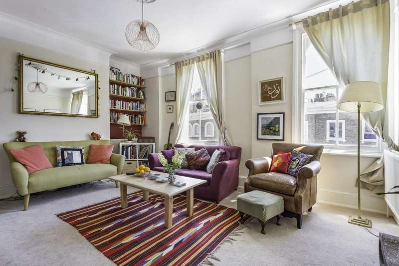 2 Bedrooms Maisonette Flat for sale in Bellefields Road, Brixton, London