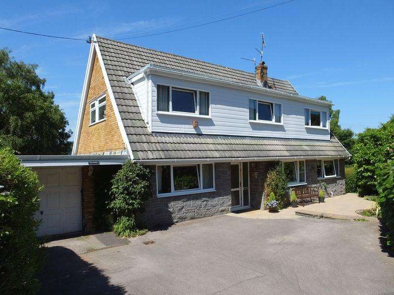 4 Bedrooms Detached House for sale in School Lane, Govilon, Abergavenny