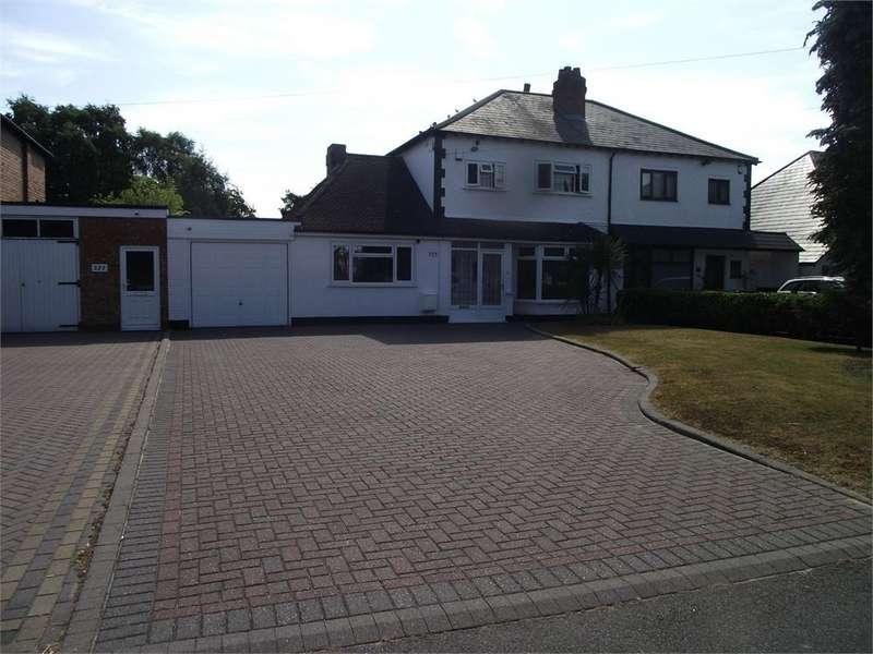 3 Bedrooms Semi Detached House for sale in TILE CROSS ROAD, TILE CROSS