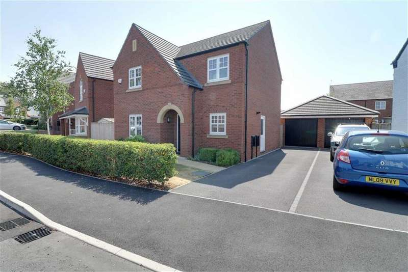 4 Bedrooms Detached House for sale in Holford Drive, Winsford, Cheshire