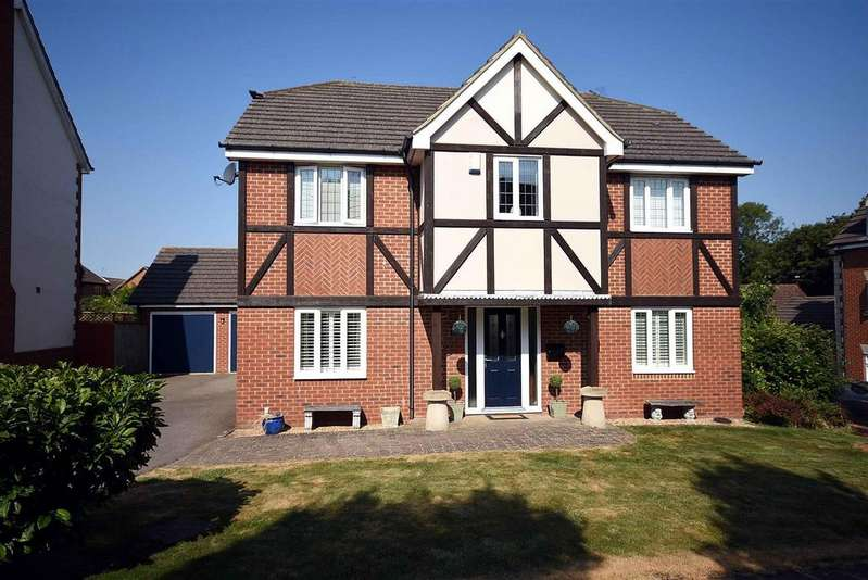 4 Bedrooms Detached House for sale in Hogarth Drive
