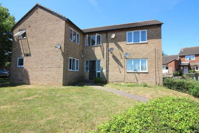 1 Bedroom Studio Flat for sale in Repton Close, Luton, Bedfordshire, LU3 3UL