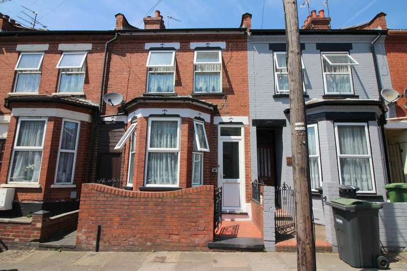 3 Bedrooms Terraced House for sale in Saxon Road, Luton, Bedfordshire, LU3 1JR