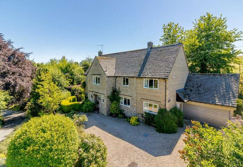 5 Bedrooms Detached House for sale in Middle Chedworth, Chedworth, Cheltenham, Gloucestershire, GL54