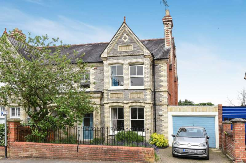 5 Bedrooms Semi Detached House for sale in Eastern Avenue, Reading