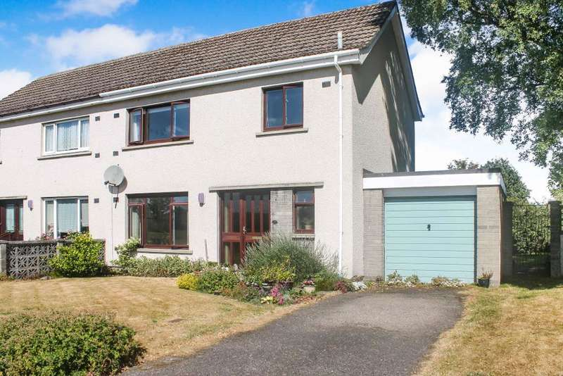 3 Bedrooms Semi Detached House for sale in Duncan Drive, Nairn, IV12 4SQ