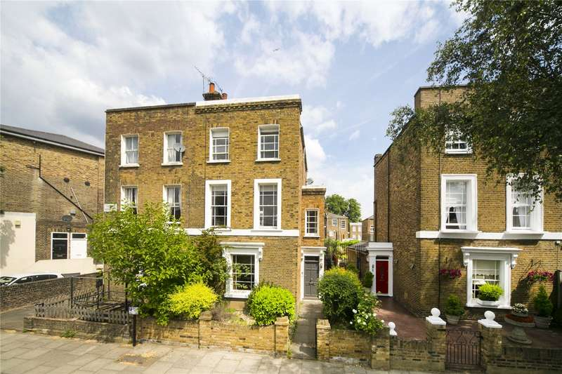 3 Bedrooms Flat for sale in Culford Grove, Canonbury, N1