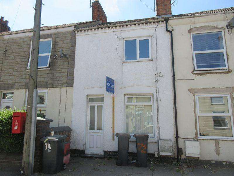 2 Bedrooms Terraced House for sale in Belvoir Road, Coalville